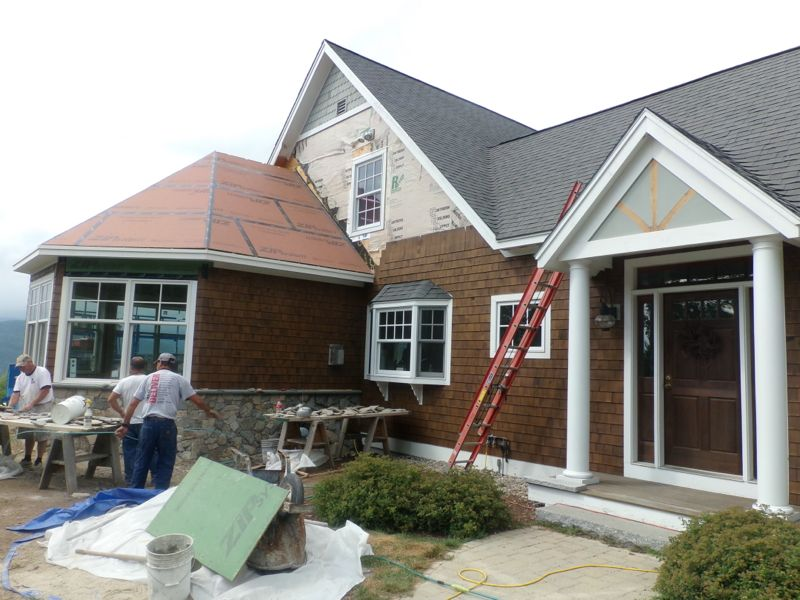 Exterior Facelift Conway Nh Mt Washington Valley L A Drew